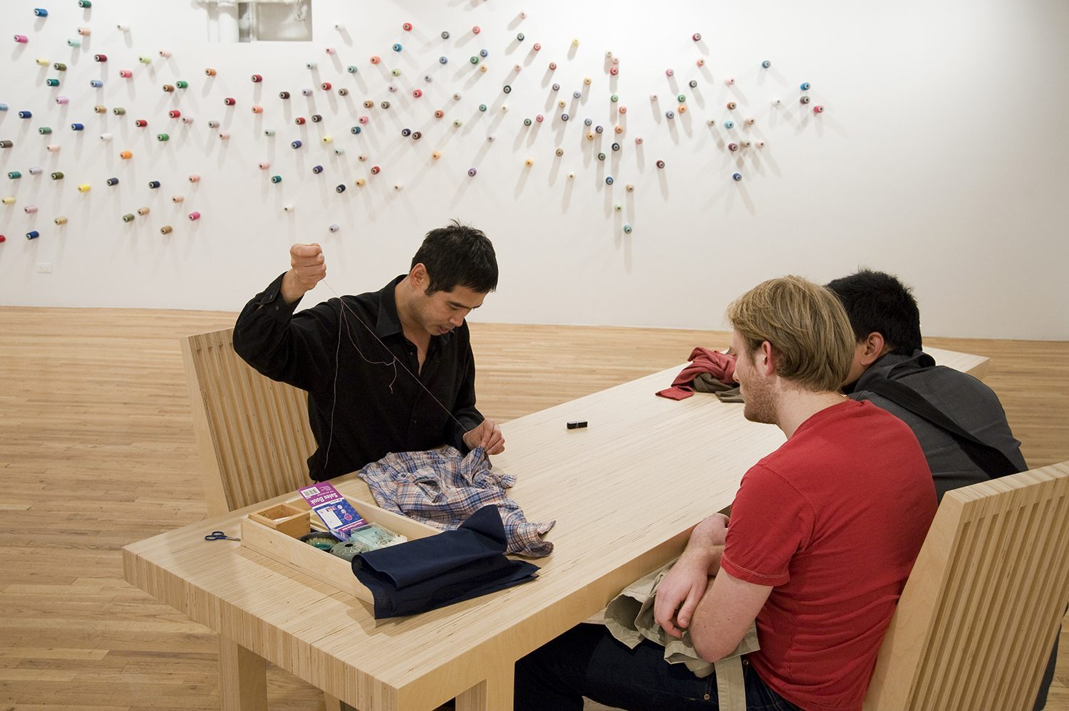 Lee Mingle, The Mending Project. Photo by Anita Kan