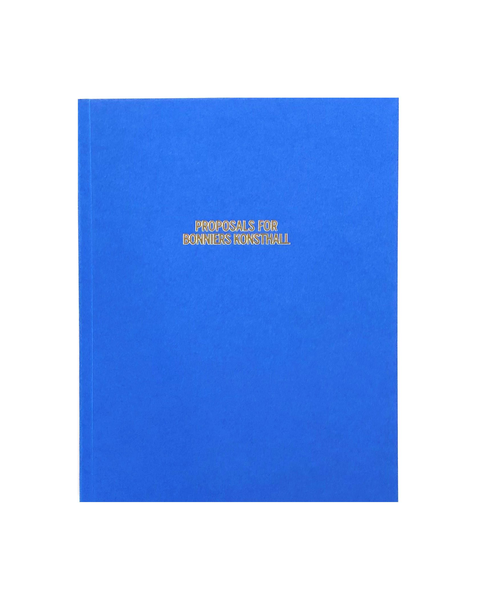 Proposals for Bonniers Konsthall
